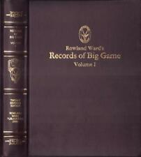 RARE LIMITED 129/150 1st EDITION ROWLAND WARD'S RECORDS OF BIG GAME Vol 1 AFRICA