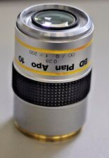 MICROSCOPE PART MITUTOYO JAPAN APO OBJECTIVE BD PLAN 10X objective
