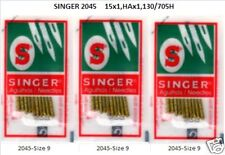 Singer Sewing Machine Ballpoint Needles 2045-9  3pks