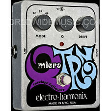 EHX Electro Harmonix Micro Q-TRON Envelope Filter Effects Pedal / Stomp Box