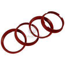 4x Zentrierringe 76,9 - 72,6 mm kirschrot Kunststoff BMW 1-er 3-er 5-er 7-er Z4
