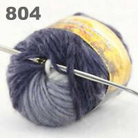 Sale 50g NEW Knitting Yarn Chunky Hand Colorful Wool Soft Warm Scarves Shawls 04