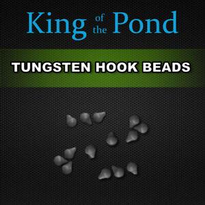 Tungsten hook beads rig stops x20 - carp fishing, carp rigs