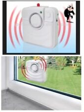 2xBrand New Glass Break Detector Alarm- Deters Intruders.