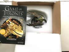 GAME OF THRONES SPECIAL ISSUE EXCLUSIVE VISERION DRAGON EAGLEMOSS FIGURINE MODEL