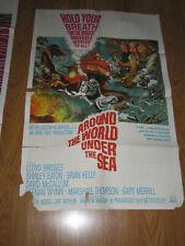 Around the World Under the Sea Original 1sh Movie Poster