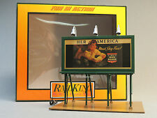 MTH RAIL KING LIGHTED BUY WAR BONDS BILLBOARD scenery train O GAUGE 30-90528 NEW