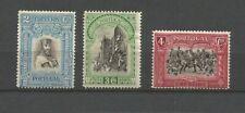 Portugal République 1928 Tricentenaire de l'indépendance 3 timbres /T9070