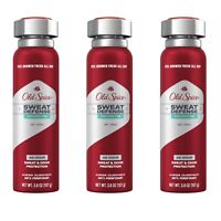 Old Spice Sweat Defense STRONGER SWAGGER Antiperspirant Dry Spray 3.8oz Lot of 3