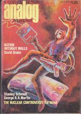 C1 ANALOG 07 1977 SF Pulp STERNBACH George R. R. MARTIN Schmidt DRAKE