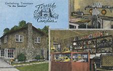Gatlinburg TN * Fireside Candies  1940s * Candy Shop  Interior Views