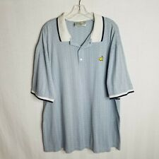 Slazenger Augusta National Golf Shop Mens Masters Golf Polo Shirt Size Xl C210