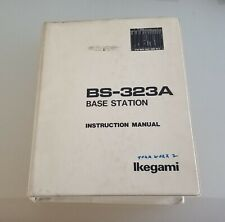 Ikegami BS-323A Base Station Instruction Manual