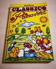 WALT DISNEY - CLASSICO  PRIMAVERA - supplemento. a Topolino 1689-10/04/1988