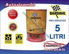 5 LITRI LT OLIO MOTORE AUTO BARDAHL XTC C60 10W40 POLAR PLUS FULLERENE TAGLIANDO