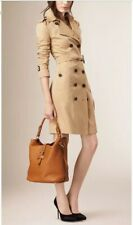 Burberry Medium Buckle Hobo Leather Bag $1895