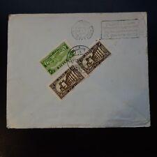 SYRIE SYRIA LETTRE BRIEF COVER CAD ALEP 1925 -> GÈNE ITALIE