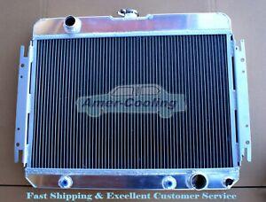 3Row Aluminium Radiator FOR 1963-1968 Chevrolet Bel Air Impala Caprice