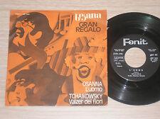 "OSANNA - L'UOMO - 45 GIRI 7"" PROMO ITALY"