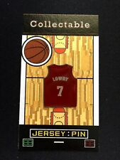 Toronto Raptors Kyle Lowry jersey lapel pin-Classic Collectable-We the NORTH!