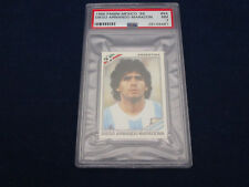 PANINI WM 1986 Mexico 86 World Cup, adesivo/immagine, 84 Diego Maradona, PSA graded 7