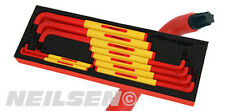 NEILSEN 9pc VDE Star Torx Key Set 1000V Insulated Tested Tool Set T10-T50 ct3939