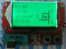 Small 12864 LCD Transistor Tester Capacitance ESR Meter Diode Triode MOS LCR NPN