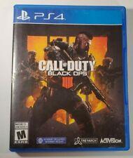 Call of Duty: Black Ops 4 (PlayStation 4, 2018) cib bo4 PS4