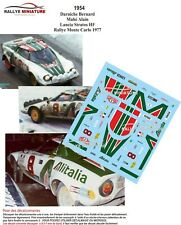 DECALS 1/43 REF 1954 LANCIA STRATOS DARNICHE RALLYE MONTE CARLO 1977 WRC RALLY