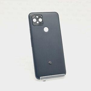 Google Pixel 5 Backcover Rückseite Akkudeckel ohne Kameraglas Schwarz Black