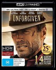 Unforgiven (4K UHD/UV NEW B Region Blu Ray