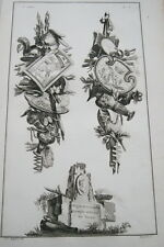 EAU FORTE JEAN CHARLES DELAFOSSE-VOYSARD ALEXANDRE LE GRAND DARIUS-TROPHEES 1772
