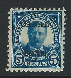 Bigjake: Canal Zone #74, 5 cent Roosevelt