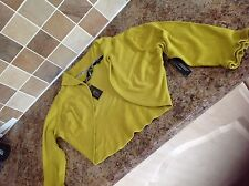 Ladies STAR by Jullenmacdonald  Size 18 Belero in a green shade. NEW with tags