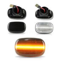 Pair LED Side Indicator Light Turn Signal For Toyota Corolla Hilux sr5 Yaris Mk6