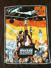 Weezer Join the Alliance T-Shirt Star Wars Parody Men's Xxl Brown