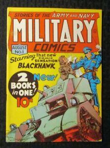 1970s FLASHBACK #5 FN 6.0 Reprint Military Comics #1 Blackhawk