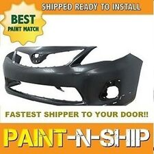 Fits; 2011 2012 2013 Toyota Corolla S Front Bumper Painted (TO1000373)