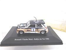 Eso-9611 1:43 Eligor renault 5 turbo maxi rally du Var 1986 muy buen estado,