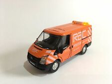 OXFORD DIECAST 76FT003 FORD TRANSIT RAC WITH WORKING BEACONS & HAZARDS OO 1:76