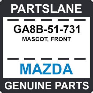 GA8B-51-731 Mazda OEM Genuine MASCOT, FRONT