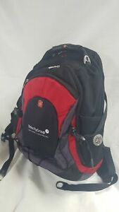 Wenger Swissgear Mens Airflow Red And Black Backpack