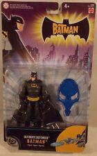"Ultimate Defender Batman Black Gray Outfit ""The Batman"" Animated Series Mattel"