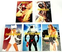 Kahlua Alcohol Advertising Postcards Cocktail Max Racks (Lot of 5) Free Shipping