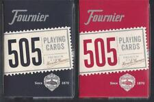 12 DECKS Fournier 505 playing cards