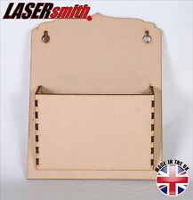 Post/mail/lettre rack holder made with 3mm mdf pour craft, decoupis etc