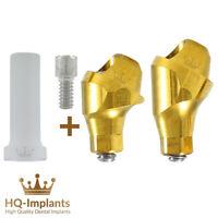 Angular 30° Multi Unit Plastic Sleeve Set Conical NP Abutment Dental Implant
