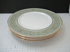 "Royal Doulton Fine Bone China English Renaissance 4 (10-1/2"") Dinner Plates"