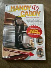 Handy Caddy Sliding Kitchen Under Cabinet Appliance Moving Caddy Open Box