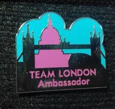 2012 LONDON OLYMPIC VOLUNTEER TEAM LONDON AMBASSADOR PIN